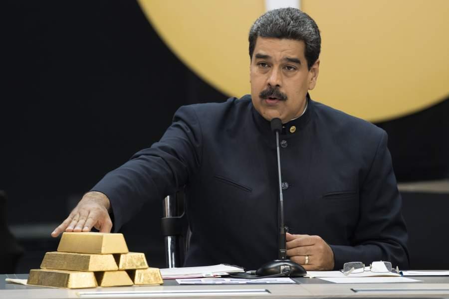 Nicolás Maduro Reservas de Oro de venezuela desaparecen en áfrica El Latinaso Noticias