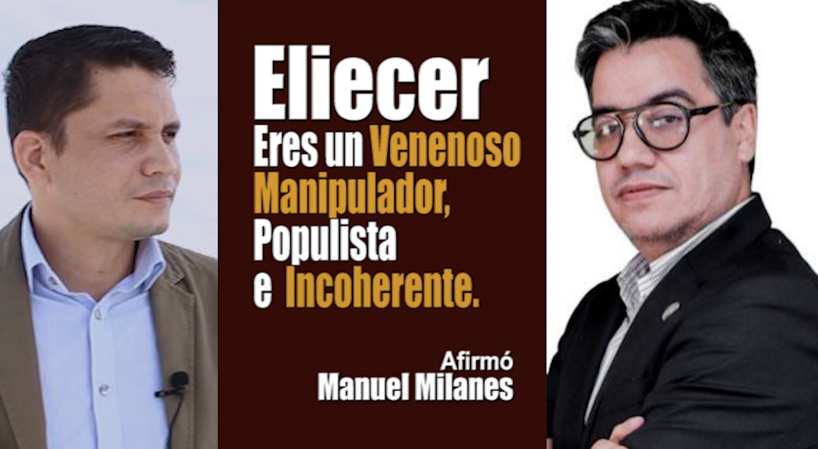Manuel Milanes vs Eliecer Avila polemica Alex Otaola